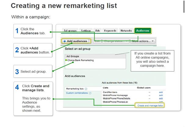 Google Remarketing Set-Up - Step 1