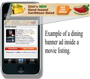 mobile marketing banner ad