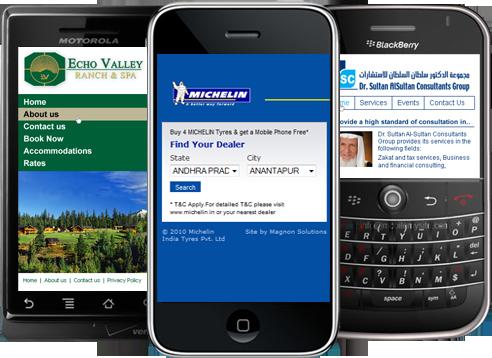 Mobile Optimised Websites, mobile marketing