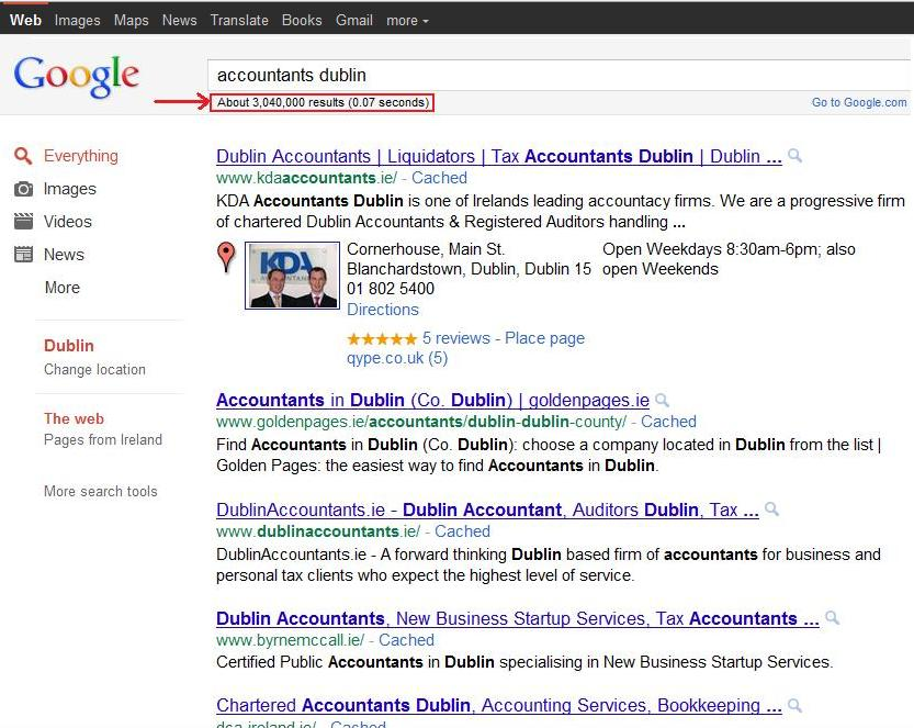 search results for accountants dublin