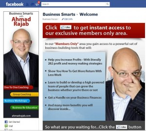 Business Smarts Facebook Page
